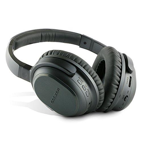 Golzer BANC-50 Bluetooth 4.1 Active Noise Cancelling Wireless ...