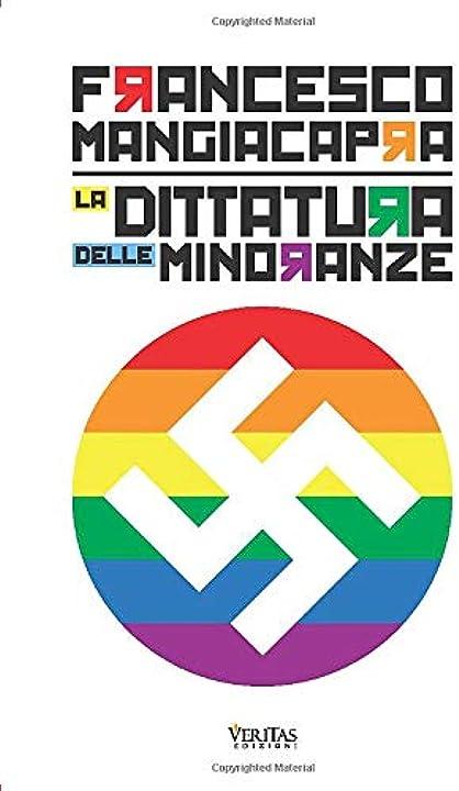 La dittatura delle minoranze - francesco mangiacapra - copertina flessibile 978-8831659710