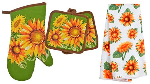 Top 10 Best Selling List for mainstay sunflower kitchen set includes 2 kitchen towels