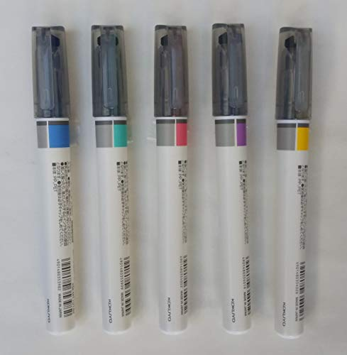 コクヨ 2トーンカラーマーカー[マークタス](グレータイプ) 5色 PM-MT101PM/BM/GM/VM/YM 5色5本組み