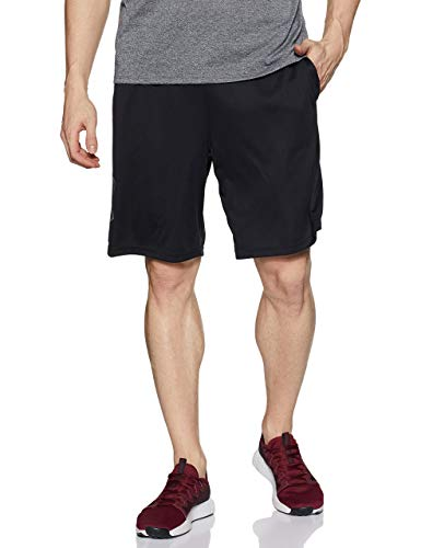 Under Armour Tech Graphic Short Pantalón Corto, Hombre, Negro (Black/Graphite 001), L