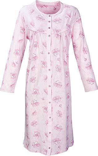 Erwin Müller Damen-Nachthemd Single-Jersey rosa Größe 44/46