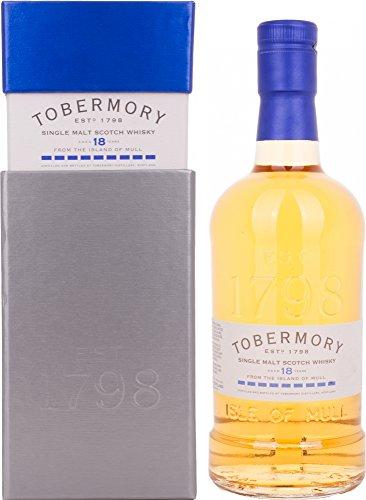 Tobermory Tobermory 18 Years Old Single Malt Scotch Whisky BOURBON FINISH 46,3% Vol. 0,7l in Giftbox - 700 ml