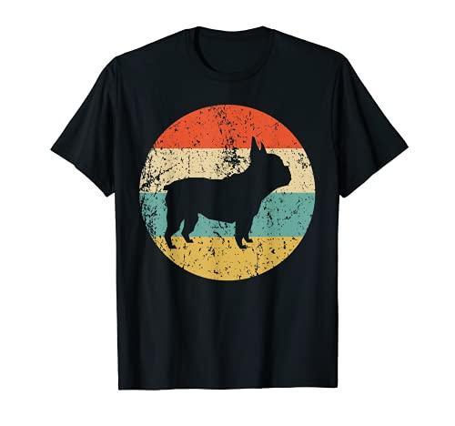 French Bulldog Shirt - Retro French Bulldog Dog T-Shirt