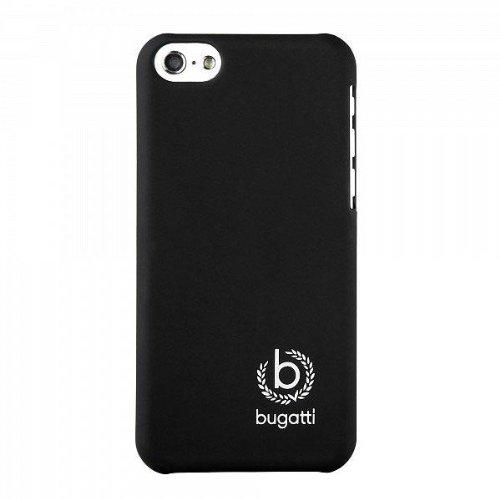 Bugatti 08327 Clip-On Cover für Apple iPhone 5C, Schwarz