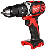 Milwaukee 2607-20 1/2'' 1,800 RPM 18V Lithium Ion Cordless Compact Hammer Drill / Driver with Textured Grip, All Metal Gear Case, and LED Lighting (Bare Tool)