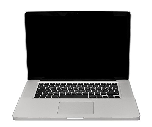 Lilware Smooth Touch Slim Matte Hard Plastic Case for Apple MacBook Pro 15-inch with Retina Display Models: Mid 2014 / Late 2013 / Early 2013 / Mid 2012. Semi-transparent