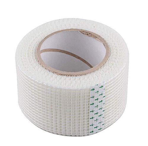 Vetrineinrete® Nastro a rete in fibra di vetro adesivo flessibile rinforzo per intonaco giunti e cartongesso anti crepe da 70 45 e 20 metri x 5cm (70