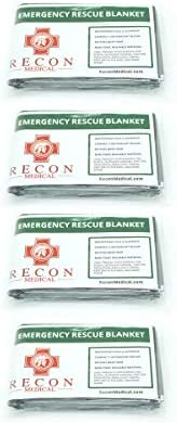 Emergency Rescue Blanket Waterproof Compact First Aid Lightweight EMT Life Saving Reusable 4 product image