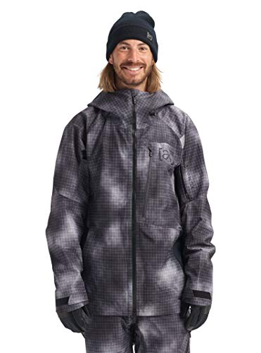Burton Mens Ak Gore-Tex Cyclic Jacket, Cloud Ripstop, Small