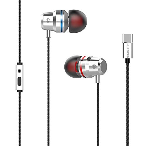 USB Type C Earphones, Letv Leeco CDLA Earphone HiFi Chip Inbedded Continual Digital Lossless Audio for LeEco le 2 Pro