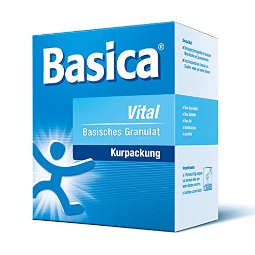 Basica Vital, reines basisches Granulat zum Einrühren in Speisen, zum Kochen, für Diät, Basenfasten, glutenfrei, 200 g