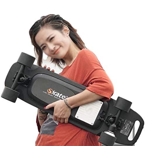 SLM-max Niños en patineta,Monopatín eléctrico con Control Remoto inalámbrico para Adultos, Adolescentes,...
