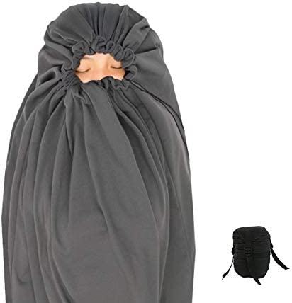 Litume All Season Sleeping Bag Liner Adds Up to 27F Compressible and Lightweight Mummy Sleeping product image