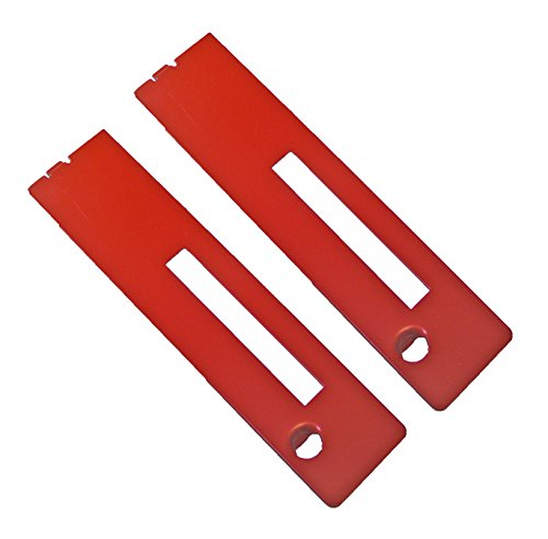 Ryobi RTS31 Table Saw (2 Pack) Replacement Dado Throat Plate # 089260001699-2PK