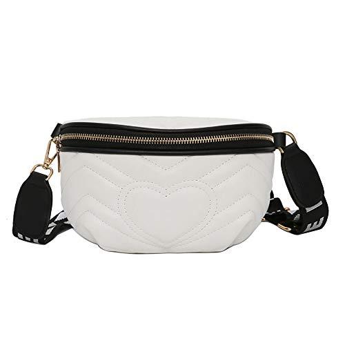 Gusspower Riñoneras Mini Bolso de Cintura Multifunción de PU Bolsa de Cinturón para Mujeres Niñas Bolsa de Mensajero Impermeable Ligero Moda
