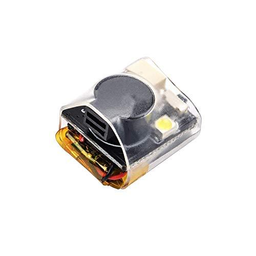 ICQUANZX RC Signal Loss Buzzer Tracker Buscador de luz LED 100dB Beep Buzzer Alarm, con batería perdida Drone Alarm 100dB Tracker Working, para BF & CF Flight Controller RC Drone