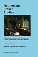 Text, Knowledge and Wonder in Early Modern France: Studies in Honour of Stephen Bamforth (Nottingham French Studies)