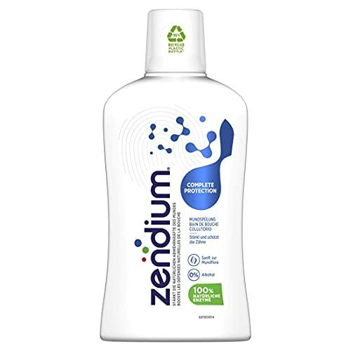 Zendium mondspoeling voorkomt Karies tegen complete bescherming zonder alcohol, 1 x 500 ml