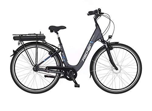 bester Test von brose e bike antrieb FISCHER E-Bike City ECU 1401, Elektrofahrrad, Anthrazit, 28 Zoll, Rahmengröße 44 cm, Frontmotor 20 Nm, 36…