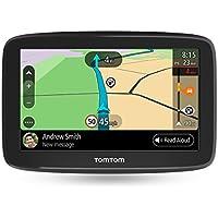 TomTom GO Basic, GPS para coche, 6 pulgadas, actualizaciones mediante Wi-Fi, traffic para toda la vida mediante smartphone y mapas de la UE, mensajes de smartphone y pantalla resistiva