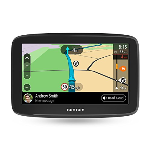 TomTom Car Sat Nav Go Basic, 6 inch, with updates via WiFi, lifetime traffic and maps for 48 countries, TomTom roadtrips