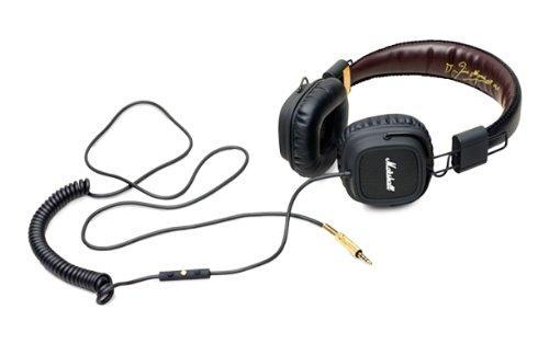 MARSHALL MAJOR FX (black) cuffie apple certified + microfono