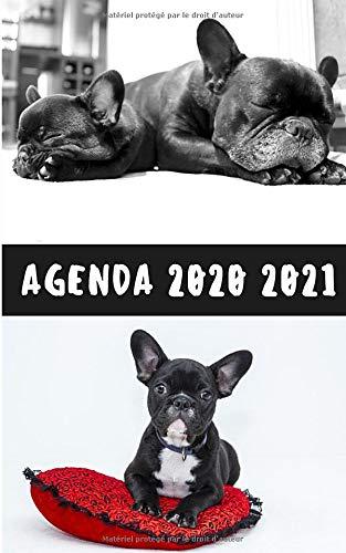 Agenda 2020 2021 - BULLDOG - Collège Lycée Université: Un Jour Scolaire par Page - Simple et Pratique