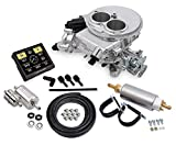 NEW HOLLEY SNIPER EFI 2300 SELF-TUNING MASTER KIT,2 BBL FUEL INJECTION CONVERSION,POLISHED,580...