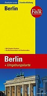 Falk Stadtplan Extra Standardfaltung Berlin mit Cityplan Pot