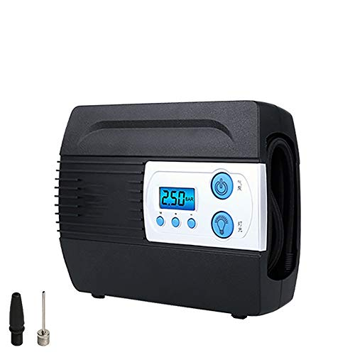 TWDYC Compresor de Coche para inflador de neumáticos de Bomba automática Compresor de Aire de 12 V Infladores de neumáticos Digitales portátiles