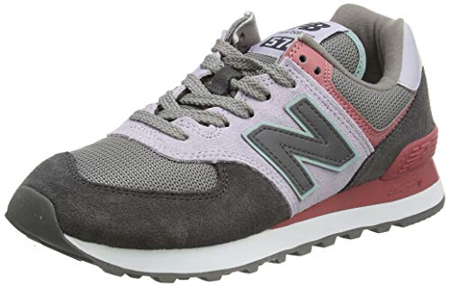New Balance Damen 574 WL574LBT Medium Sneaker, Purple (Thistle LBT), 42.5 EU
