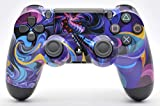 PS4 Custom UN-MODDED Controller Exclusive Unique Designs - Multiple Designs Available CUH-ZCT2U (Psychedelic)