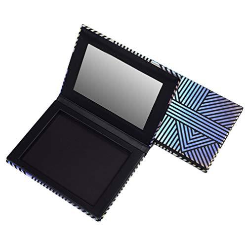 Minkissy Magnetische Palette mit Leerem Spiegel Aufbewahrungspalette für Die Aufbewahrung von...