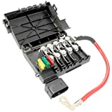 APDTY 035792 Fuse Box Assembly Battery Mounted With New Fuses & Fusible Fuse Links Fits 1998-2003 VW Beetle (2003 Models Up To VIN 1C3440500) 1999-2001 VW Jetta (2003 Models Up To VIN 9M1081200)