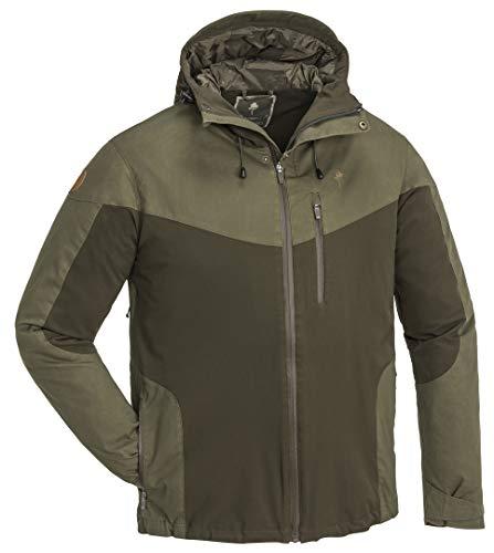 Pinewood Herren Finnveden Hybrid Extrem Jacke, Dark Oliv/Oliv, XL