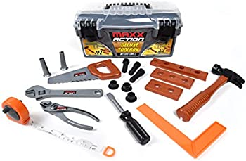 Sunny Days Entertainment Maxx Action 18-Piece Deluxe Tool Box