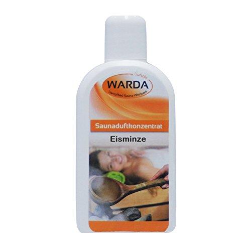 Warda Saunaaufguss Eisminze Konzentrat 200 ml Flasche, Qualitätsöl, Markenöl 0,2 Liter
