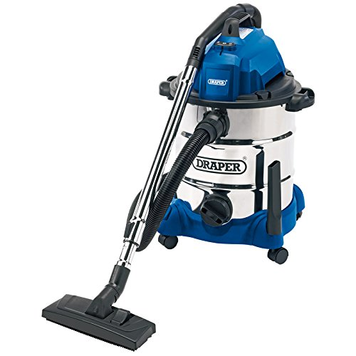 Draper 54257 30 Litre 1400 W Wet and Dry Vacuum Cleaner with...
