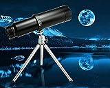Telescopio monocular de Metal, telescopio de Zoom elástico de...