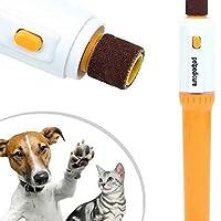 ペット製品 ペット電動ペット犬猫子犬爪先ネイルペディキュアグラインダークリッパートリマーツール 小動物用品