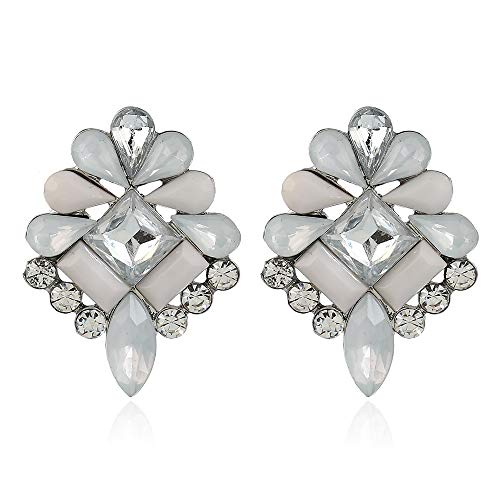 fashion fashion manufacturers direct cross border popular alloy jewelry crystal earrings earrings female