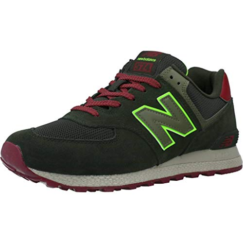 New Balance Herren MT574ATC Leichtathletik-Schuh, Schwarz/Rot, 46.5 EU