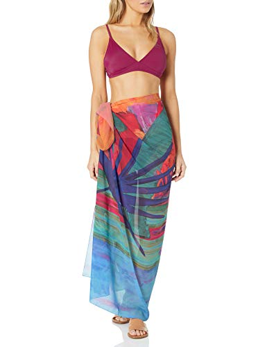 Gottex Damen Pareo Swimsuit Bademode, Cover-Up, Indian Summer Multi, Einheitsgröße
