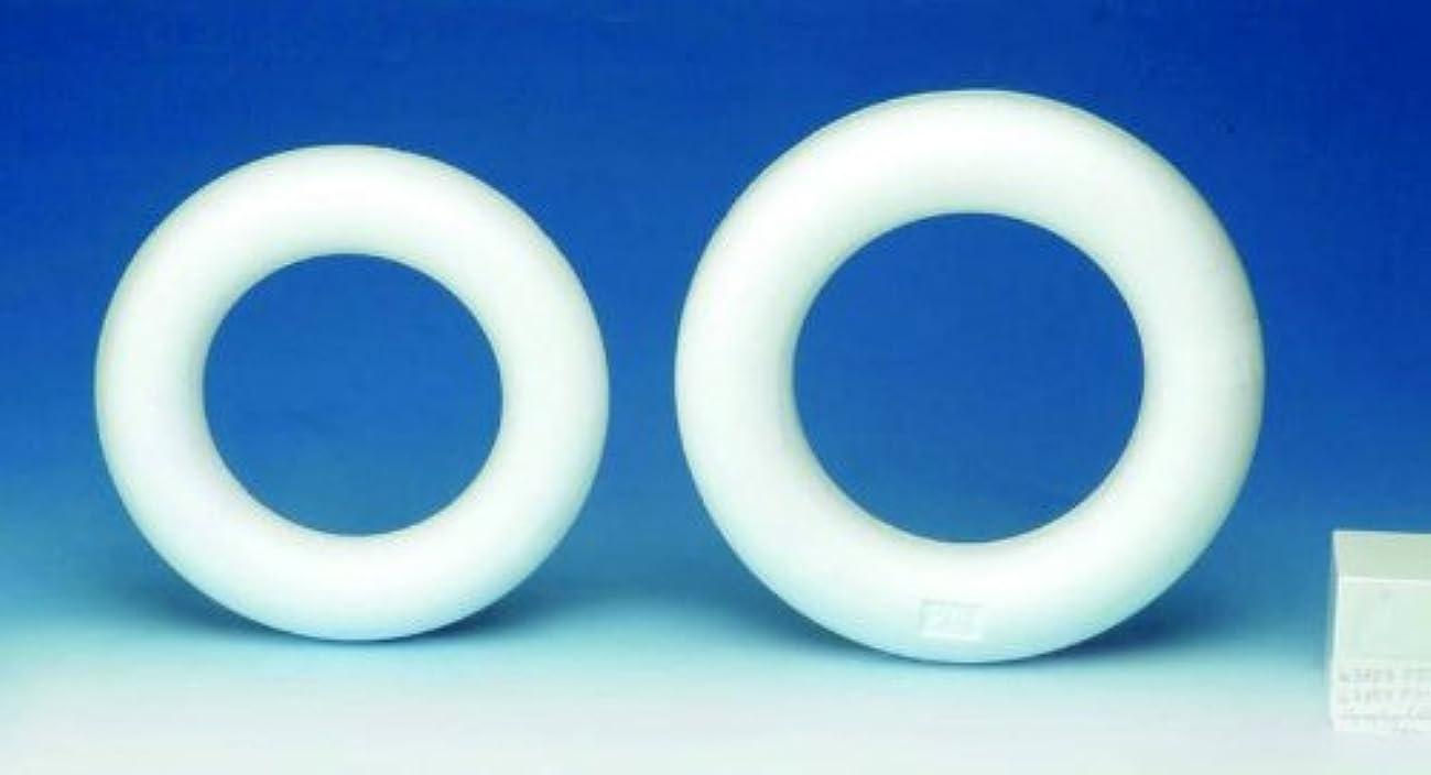 Glorex Polystyrene Styrofoam Half Ring 2.45?x 16.5?x 16.5?cm White