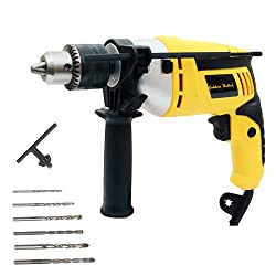 Golden Bullet HI93 600W 13mm Reversible Impact Drill With 6 FREE drill bits and Variable Speed,Golden Bullet,HI 93