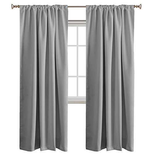 Turquoize Solid Panel Blackout Drape, Themal Insulated, Back tab, Nursery & Infant Care Curtain