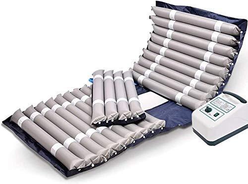 NBVCX Möbeldekoration Expansionskontrolle Matratzenauflage mit Pumpe Anti-Dekubitus-Matratze Anti-Dekubitus-Luftdruckmatratze Luftflüstern Leise Wechselluftdruckmatratze Topper mit Pumpe