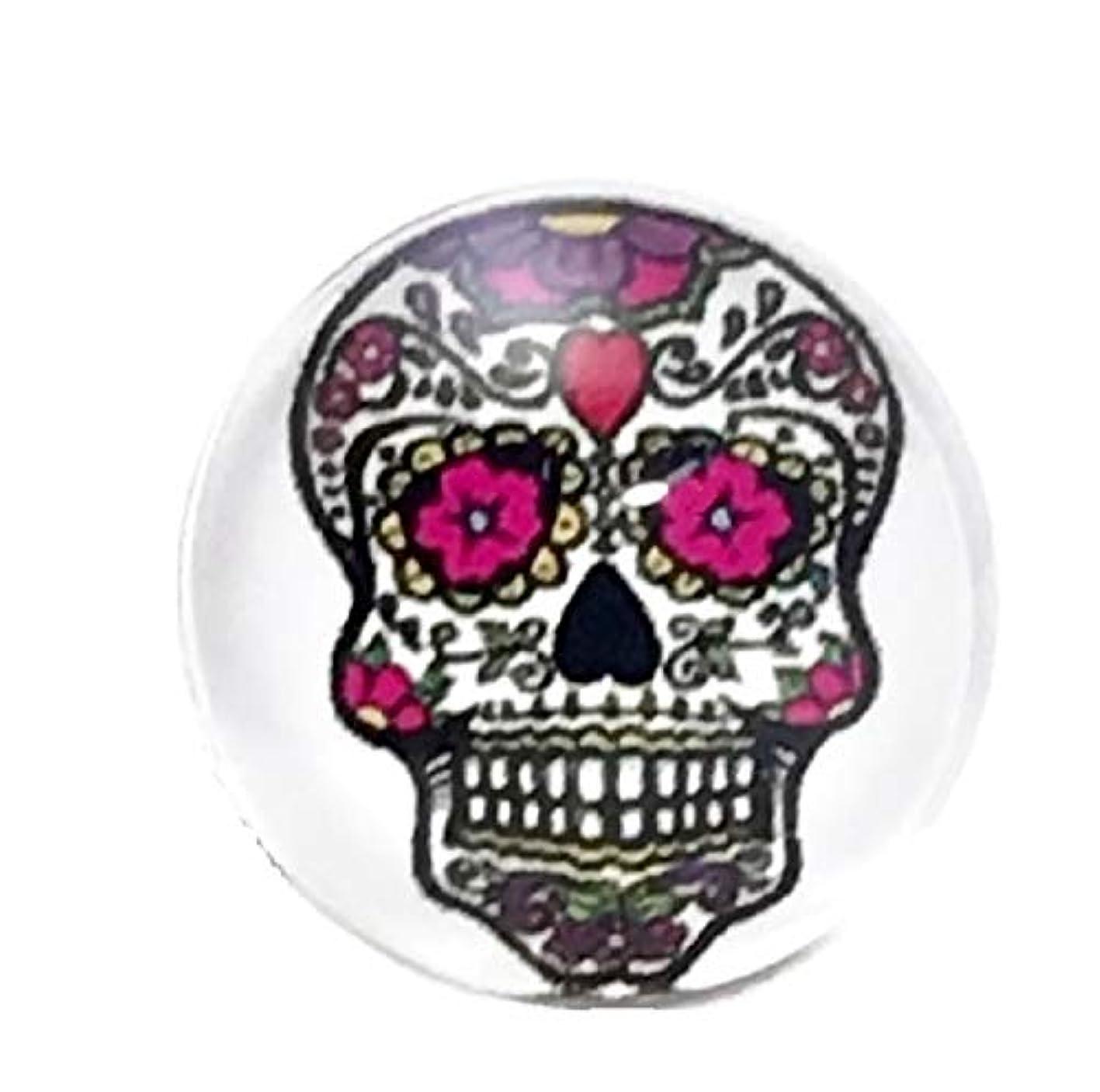 Pizazz Studios Sugar Skull Snap Charm 18mm bbhovvdalst622