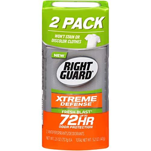 Right Guard Xtreme Invisible Solid Fresh Blast Antiperspirant & Deodorant - 2.6oz/2pk